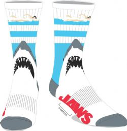 JAWS -  1 PAIR OF SOCKS