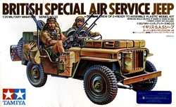 JEEP -  BRITISH SPECIAL AIR SERVICE JEEP 1/35