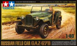 JEEP -  RUSSIAN FIELD CAR GAZ-67B 1/48 (DIFFICILE)