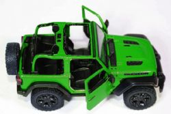 JEEP -  WRANGLER 2018 WITHOUT TOP 1/34 GREEN