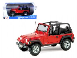JEEP -  WRANGLER - WITHOUT TOP - 1/24 - RED