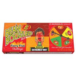 JELLY BELLY -  BEAN BOOZLED - FIERY FIVE (100G)