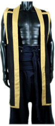 JIN-BAORI - BLACK/GOLD - MEDIUM/LARGE