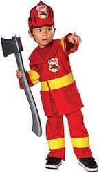 JOBS -  JUNIOR FIREFIGHTER COSTUME (INFANT & TODDLER)