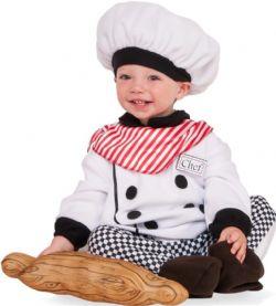 JOBS -  LITTLE CHEF COSTUME (INFANT & TODDLER)