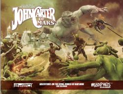 JOHN CARTER OF MARS -  ADEVENTURES ON THE DYING WORLD OF BARSOOM - CORE RULEBOOK (ENGLISH)