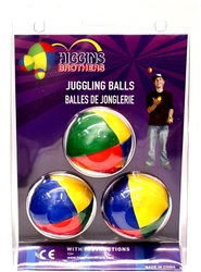 JUGGLING -  JUGGLING BALLS WITH INSTRUCTIONS