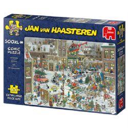 JUMBO -  CHRISTMAS (500XL PIECES) -  JAN VAN HAASTEREN
