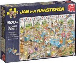 JUMBO -  CLASH OF THE BAKERS (1500 PIECES) -  JAN VAN HAASTEREN