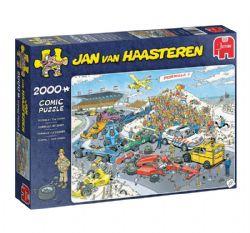 JUMBO -  FORMULA 1, THE START (2000 PIECES) -  JAN VAN HAASTEREN