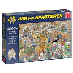 JUMBO -  GALLERY OF CURIOSITIES (3000 PIECES) -  JAN VAN HAASTEREN