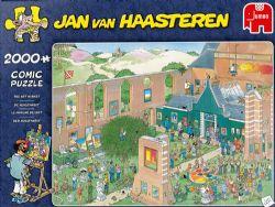 JUMBO -  THE ART MARKET (2000 PIECES) -  JAN VAN HAASTEREN