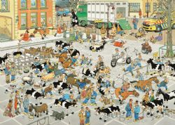 JUMBO -  THE CATTLE MARKET (1000 PIECES) -  JAN VAN HAASTEREN