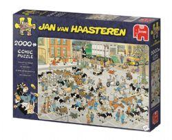 JUMBO -  THE CATTLE MARKET (2000 PIECES) -  JAN VAN HAASTEREN