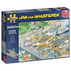 JUMBO -  THE LOCKS (2000 PIECES) -  JAN VAN HAASTEREN