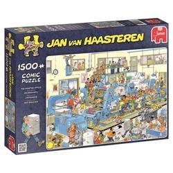 JUMBO -  THE PRINTING OFFICE (3000 PIECES) -  JAN VAN HAASTEREN
