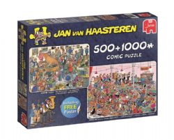 JUMBO -  THE RECEPTION + GERMAN BEER PARTY (500 + 1000 PIECES) -  JAN VAN HAASTEREN