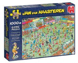 JUMBO -  WC WOMEN'S SOCCER (1000 PIECES) -  JAN VAN HAASTEREN