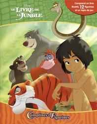 JUNGLE BOOK, THE -  COMPTINES ET FIGURINES