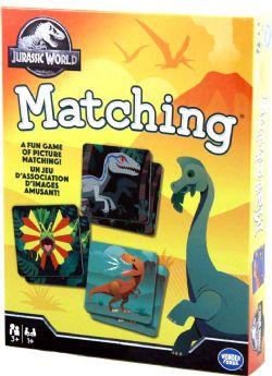 JURASSIC PARK -  MATCHING GAME (MULTILINGUAL)