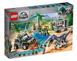 JURASSIC WORLD -  BARYONYX FACE-OFF: THE TREASURE HUNT (434 PIECES) 75935