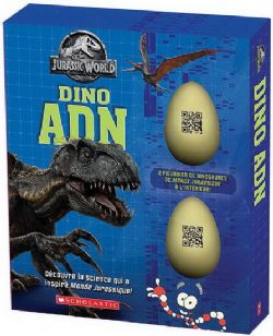 JURASSIC WORLD -  COFFRET DINO ADN
