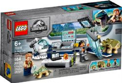 JURASSIC WORLD -  DR WU'S LAB : BABY DINOSAURS BREAKOUT (164 PIECES) 75939