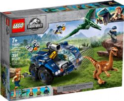 JURASSIC WORLD -  GALLIMINUS AND PTERANODON BREAKOUT (391 PIECES) 75940