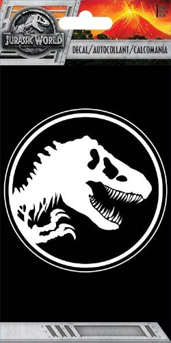 JURASSIC WORLD -  LOGO - STICKER