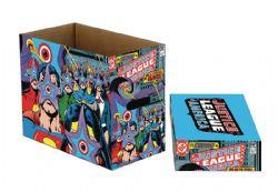 JUSTICE LEAGUE -  200 COMICS CARDBOARD BOX -  JUSTICE LEAGUE OF AMERICA