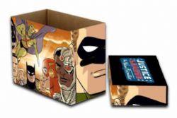 JUSTICE LEAGUE -  200 COMICS CARDBOARD BOX -  NEW FRONTIER