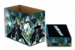 JUSTICE LEAGUE -  200 COMICS CARDBOARD BOX