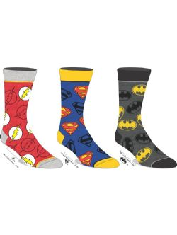 JUSTICE LEAGUE -  3 PAIRS OF SOCKS