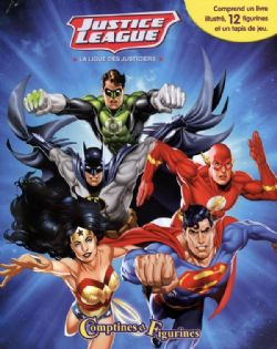 JUSTICE LEAGUE -  COMPTINES ET FIGURINES