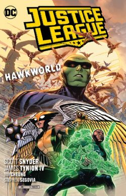 JUSTICE LEAGUE -  HAWKWORLD TP 03