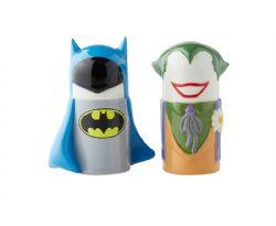JUSTICE LEAGUE -  SALT & PEPPER SHAKER - BATMAN & JOKER (3