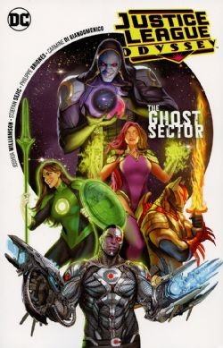JUSTICE LEAGUE -  THE GHOST SECTOR TP -  ODYSSEY 01
