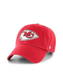 KANSAS CITY CHIEFS -  ADJUSTABLE BLACK CAP