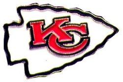 KANSAS CITY CHIEFS -  LOGO PIN