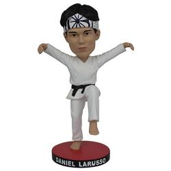KARATE KID -  DANIEL LARUSSO BOBBLE HEAD (7.8INCHES) -  PREVIEWS EXCLUSIVE