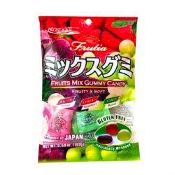 KASUGAI GUMMY -  FRUIT MIX GUMMY CANDY - GRAPE, MUSCAT & STRAWBERRY (102G)