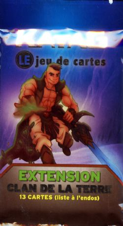 KATAG -  EARTH'S CLAN - EXTENSION PACK (13 CARDS)