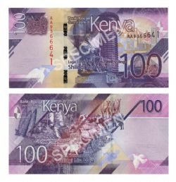 KENYA -  100 SHILLINGS 2019 (UNC)