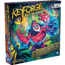 KEYFORGE -  2 PLAYER STARTER SET (ENGLISH) -  MASS MUTATION