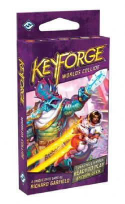 KEYFORGE -  ARCHON DECK (ENGLISH) -  WORLDS COLLIDE