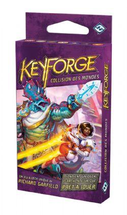 KEYFORGE -  DECK D'ARCHONTE (FRENCH) -  COLLISION DES MONDES