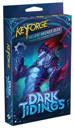 KEYFORGE -  DELUXE ARCHON DECK (ENGLISH) -  DARK TIDING