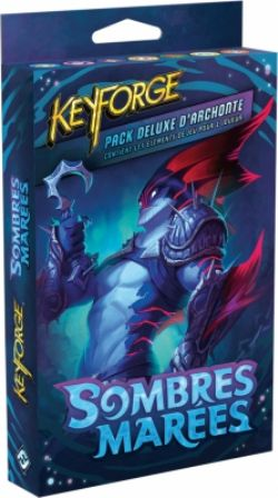 KEYFORGE -  PACK D'ARCHONTE (FRENCH) -  SOMBRES MARÉES