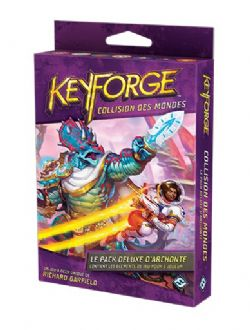 KEYFORGE -  PACK DELUXE (FRENCH) -  COLLISION DES MONDES