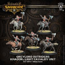KHADOR -  GREYLORD OUTRIDERS - LIGHT CAVALRY